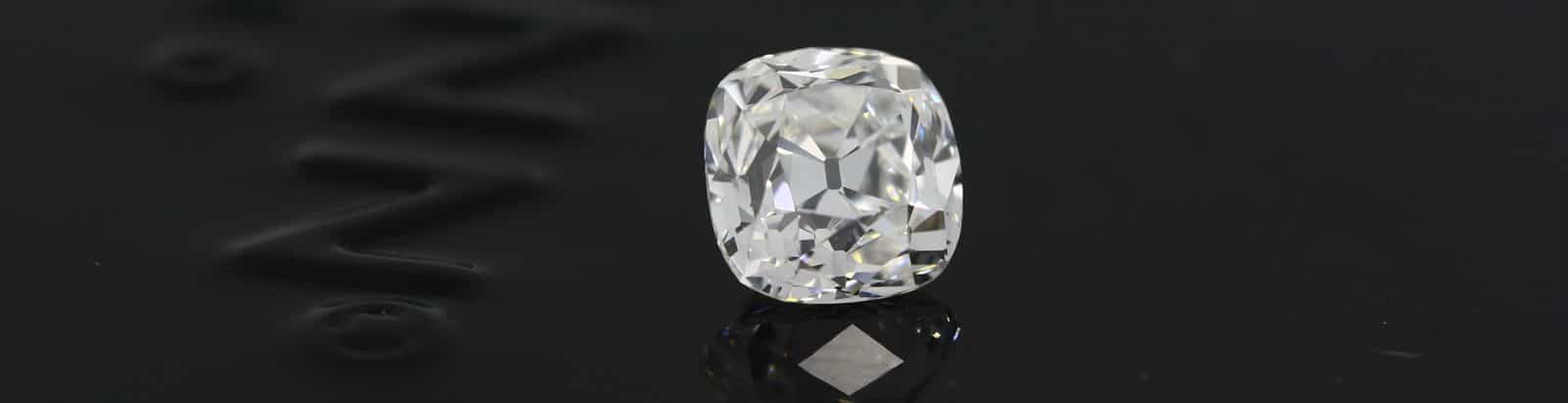 Old Mine cut Diamond by GemConcepts