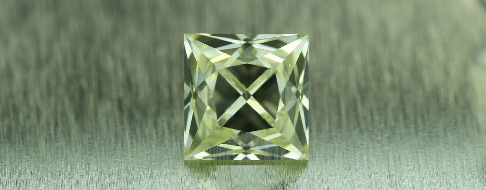 Square half carat French Cut Diamond