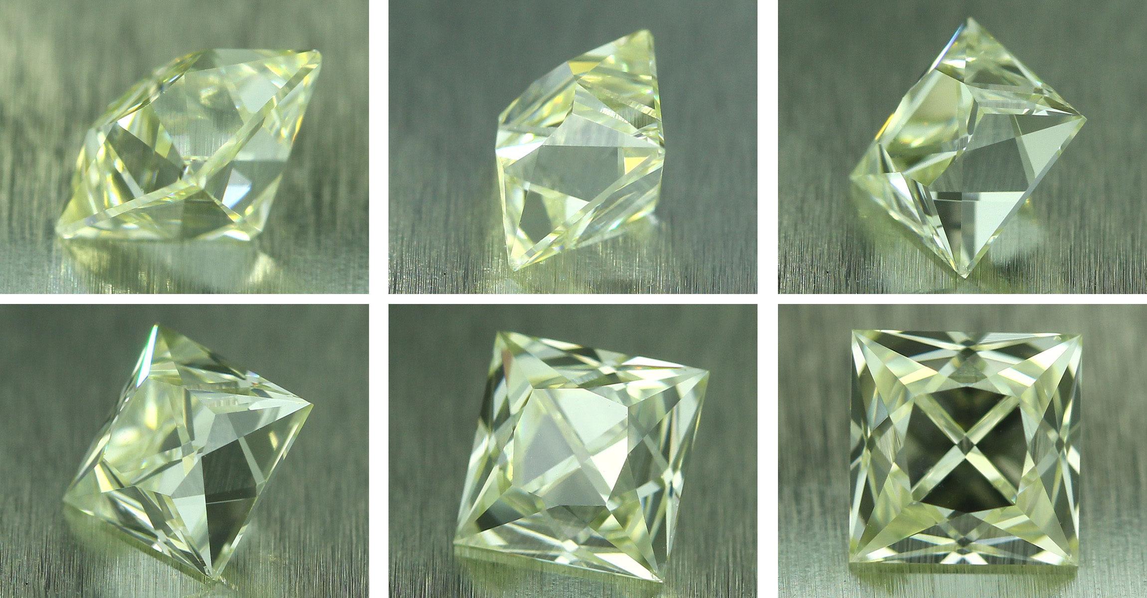 Half carat French Cut Diamond