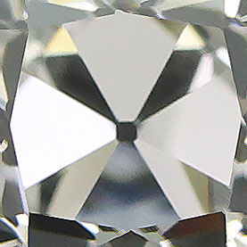 Innovative Old Mine Cut Diamond