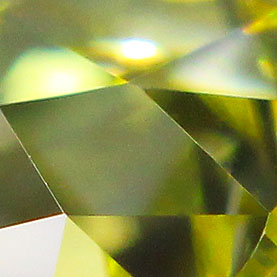 Elongated Canary Old Mine Cut Diamond