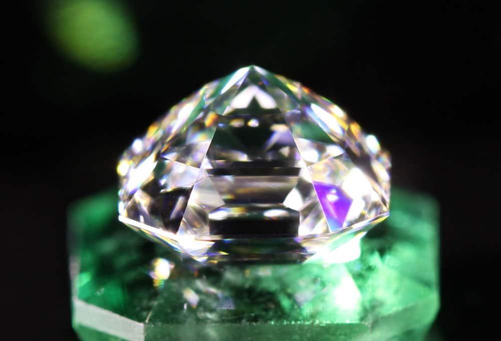 Octavia Diamond over an Emerald