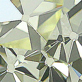 Yellow Old Mine Cut Diamond