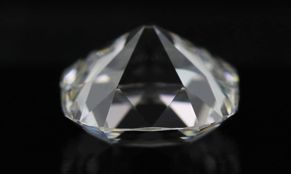 Double Decked Old Mine Cut Diamond