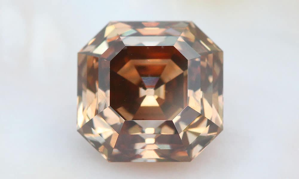 Asscher Cut Diamond ensemble
