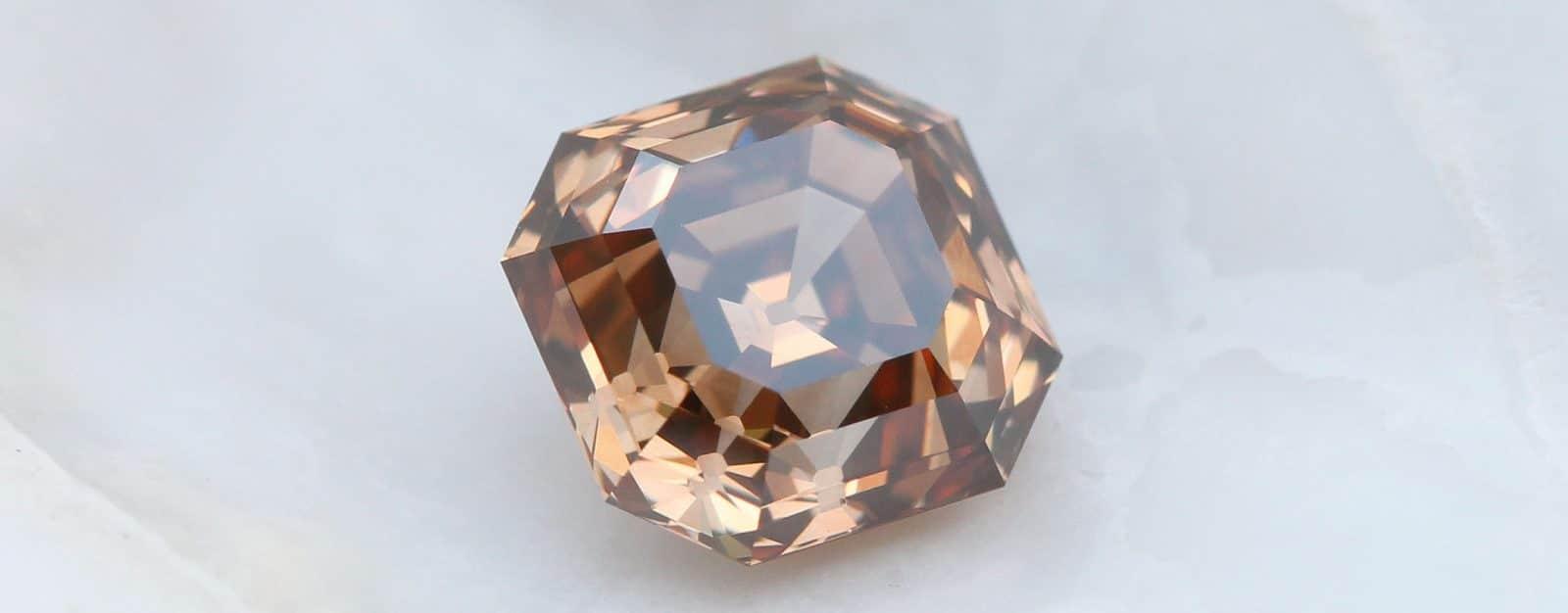 Asscher Cut diamonds ensemble