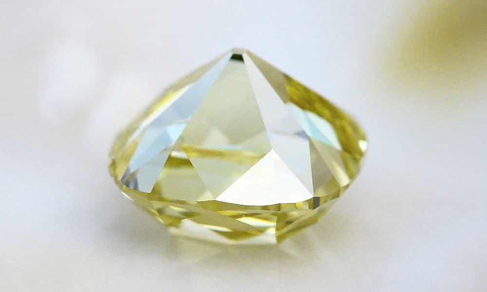 Yellow Old Mind Diamond
