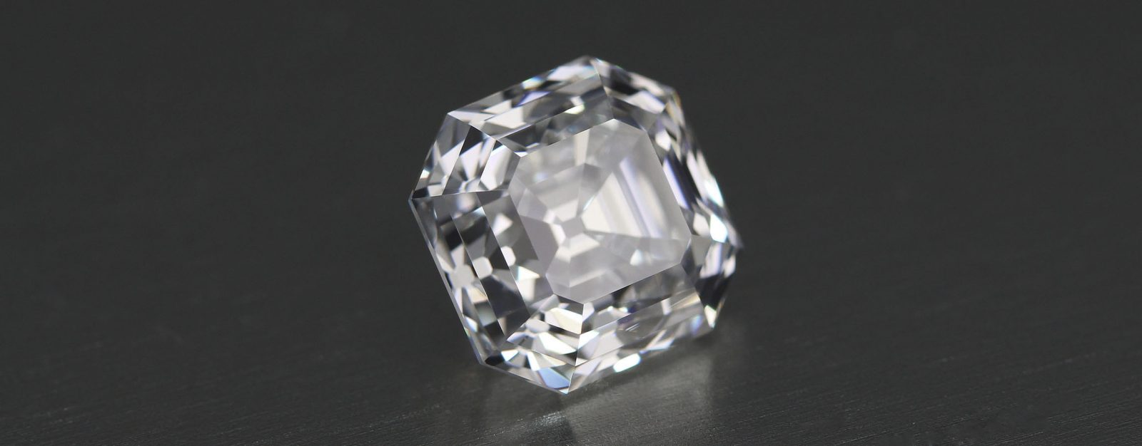 2.52 carat Asscher Cut Diamond of first water