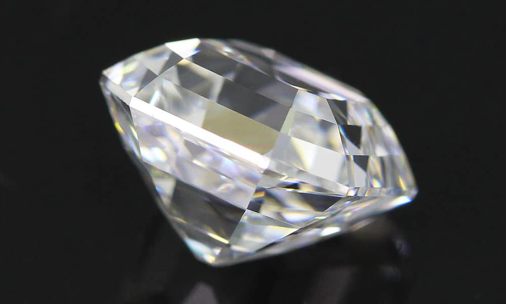 Asscher Cut Diamond of first water