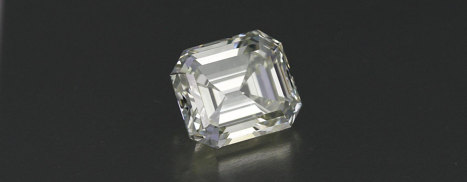 Vintage Emerald Cut Diamond circa 1910-1930 — 4.40 carat