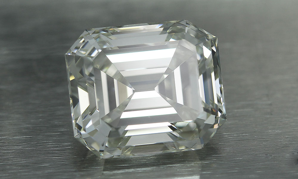 Vintage Emerald Cut Diamond