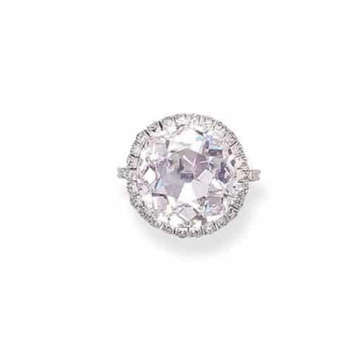 The 10.14 carat Light Pink Golconda Diamond