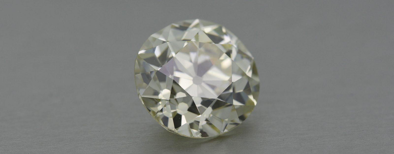 Antique Old European Cut Diamond