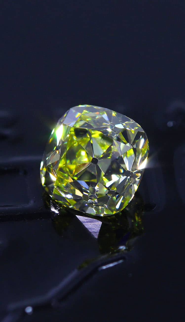The never ending battle between material color and light return in fancy colored Diamonds