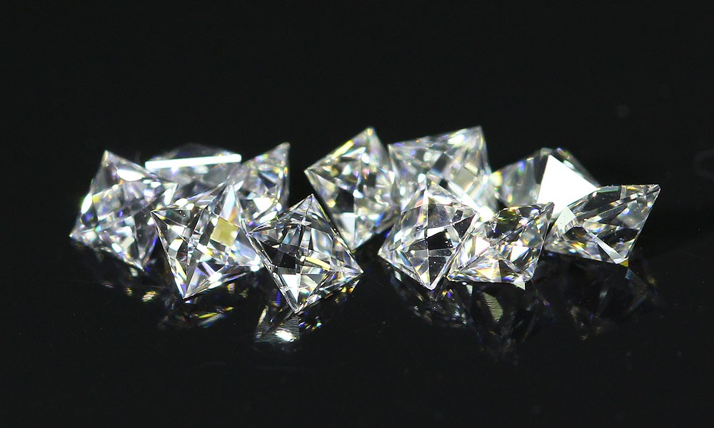 French Cut Diamond line