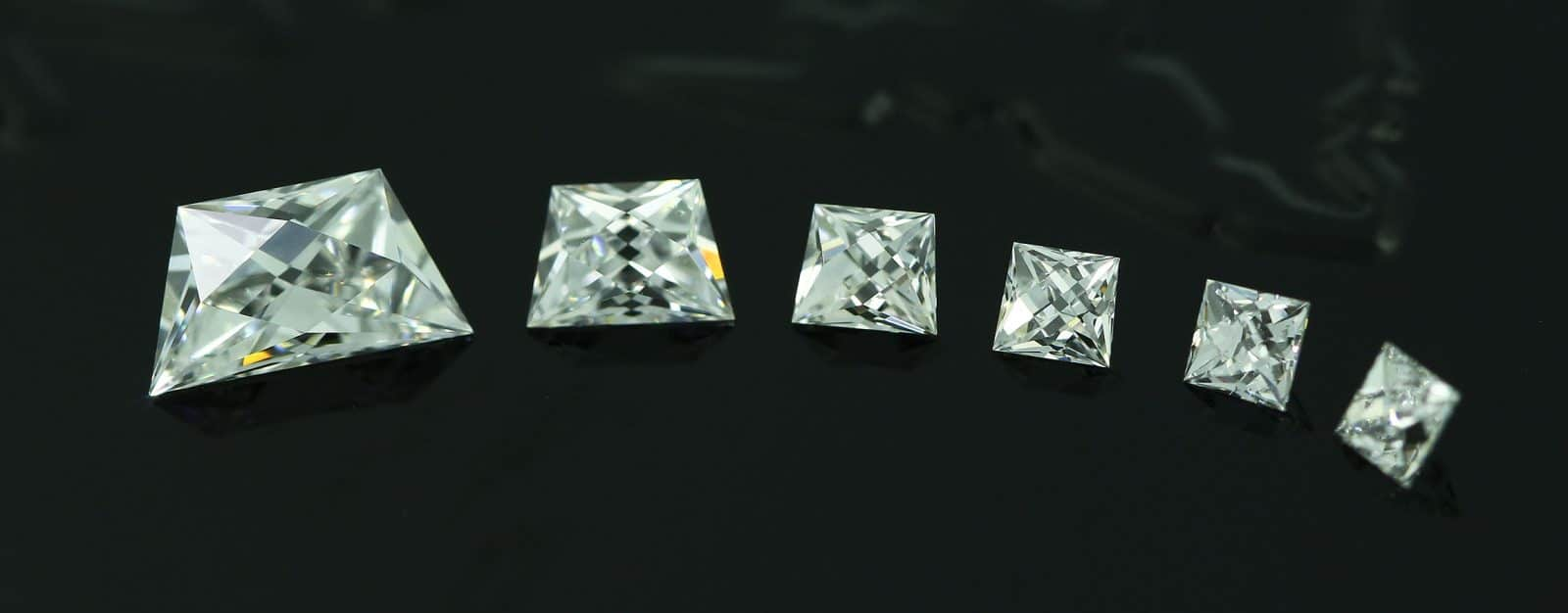 French Cut Diamonds Calibre Sets