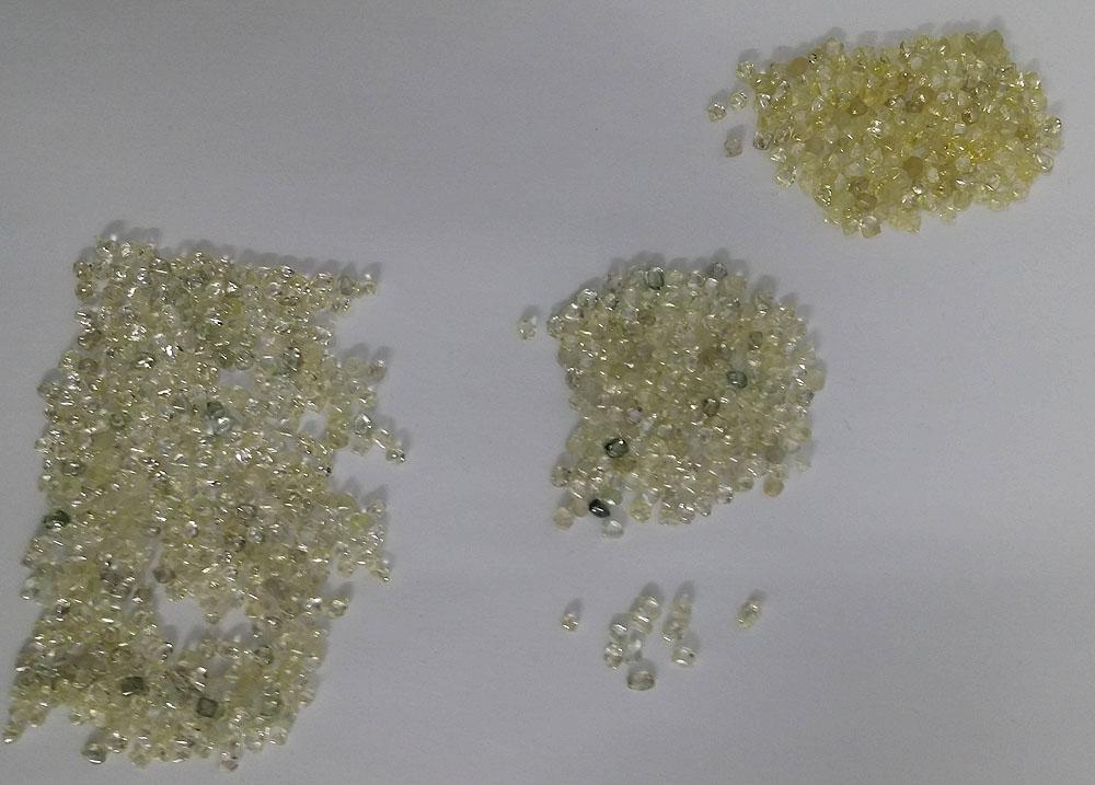 the original rough diamonds parcel