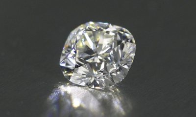 1.04 carat cushion brilliant diamond