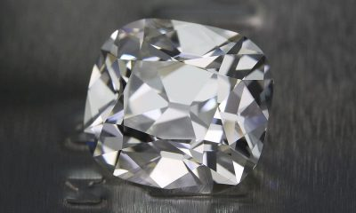 3.58 carats Old Mine Brilliant cut diamond
