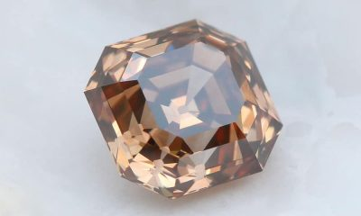 Fancy Brown Square Emerald Cut 1.52 carat