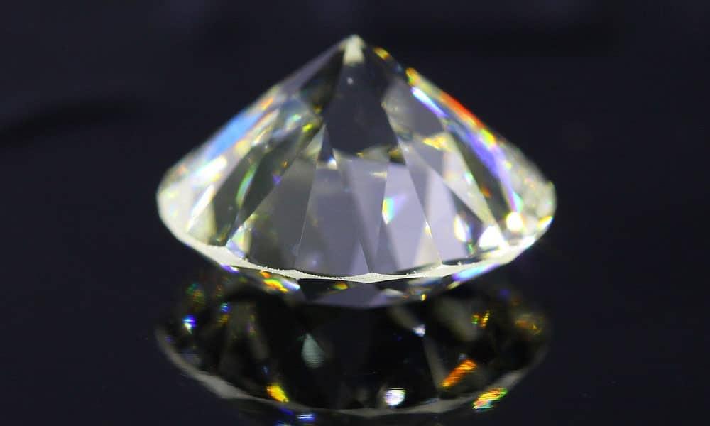 J Color Old European Cut 2.42 carat