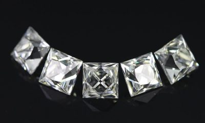 Half carat French Cut Diamonds Lot
