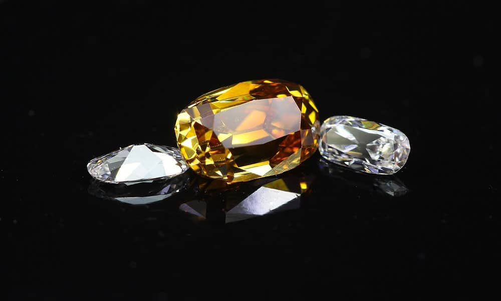 Fancy Deep Color Cushion Brilliant 0.53 carat