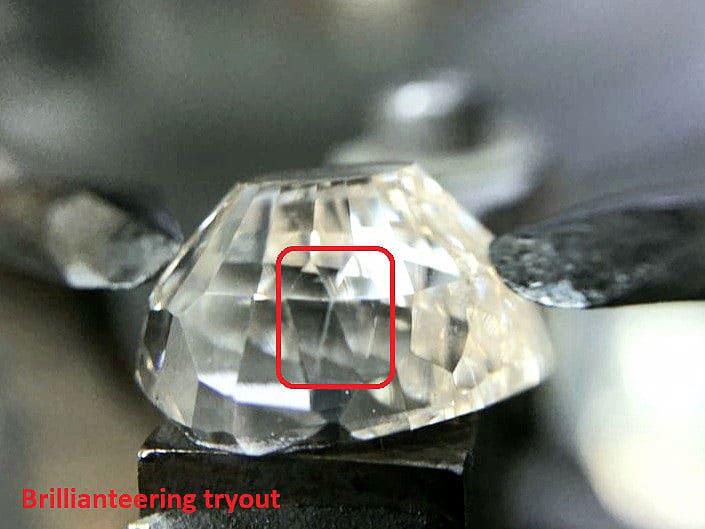 Mogul diamond brillianteering