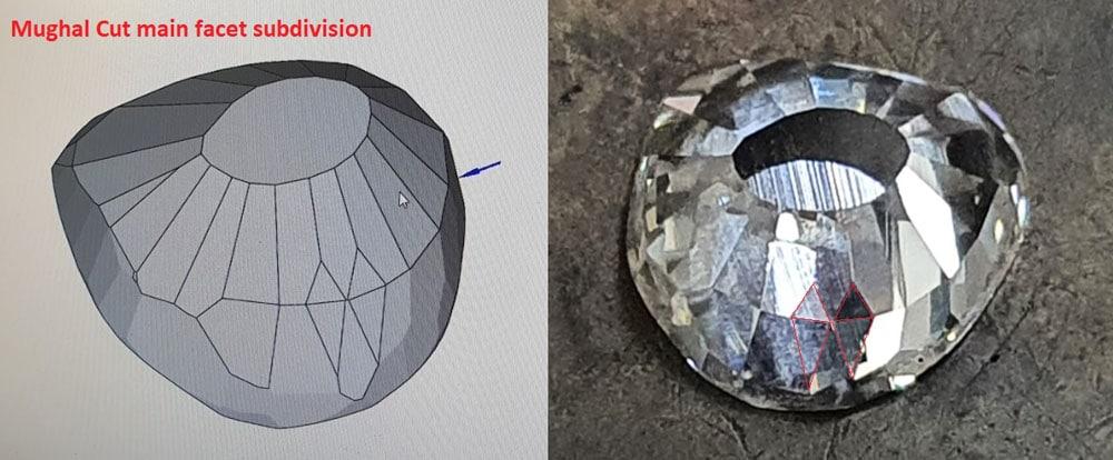 Sarin sketch vs real diamond