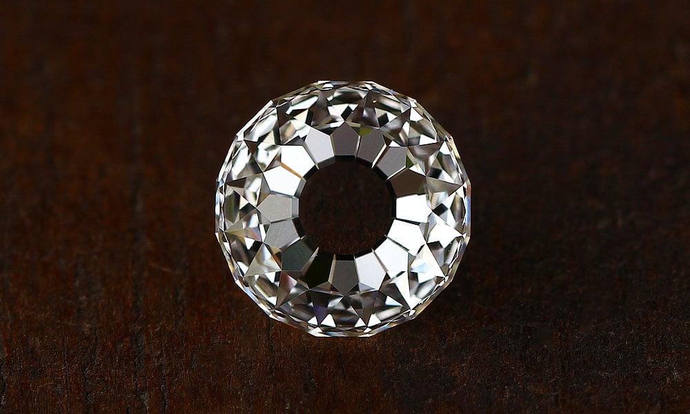 Modern Mogul Cut Diamond - 1