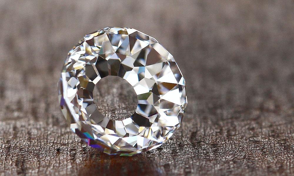 Modern Mogul Cut Diamond - 5