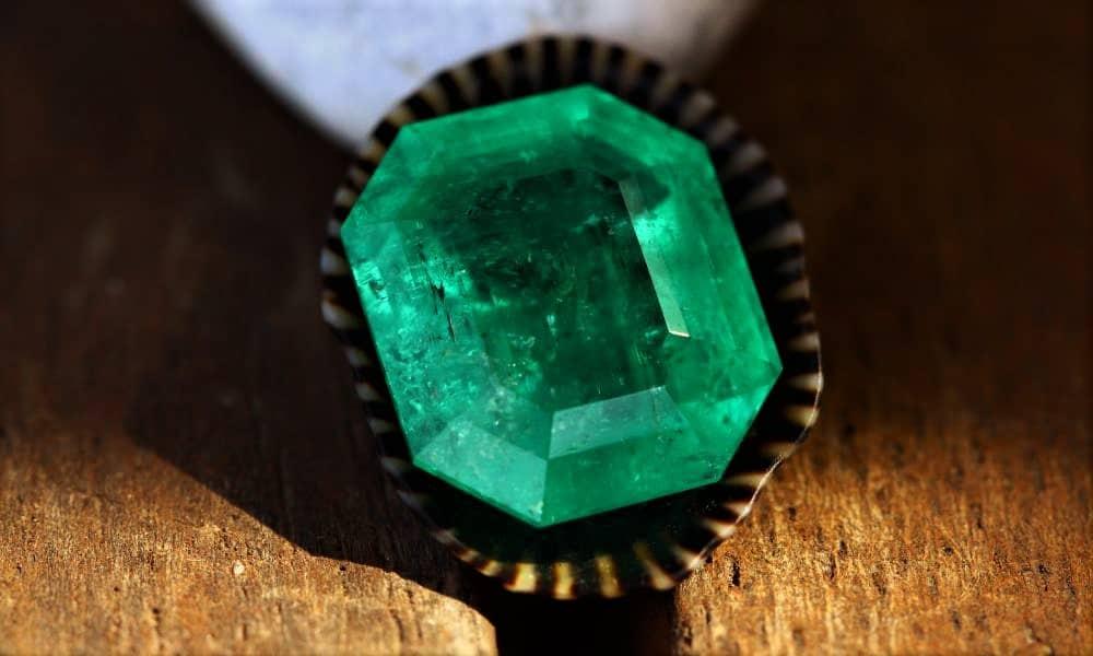 Reformed Colombian emerald 0.84 carat